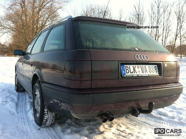 1991 Audi  2.8 liter V6 Quattro 174 HP EURO 2 Estate Car Used vehicle photo