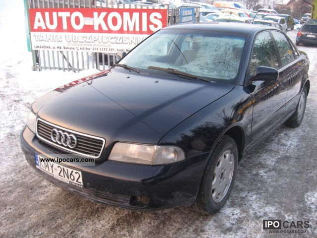Audi  A4 1998 Liquefied Petroleum Gas Cars (LPG, GPL, propane) photo
