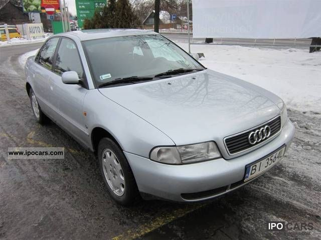 1997 Audi  A4 AUTO ZADBANE - OKAZJA Limousine Used vehicle photo