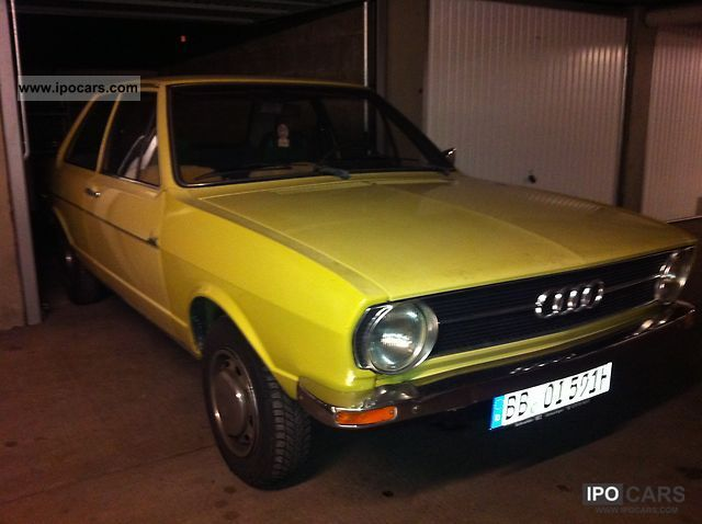 Audi  80 - H-approval! 1974 Vintage, Classic and Old Cars photo
