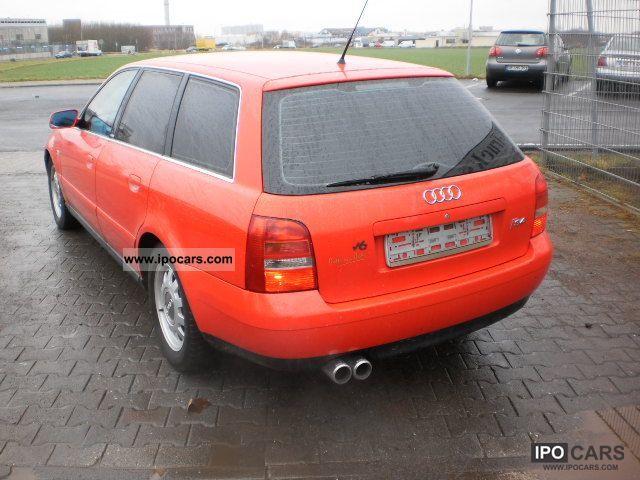 1999 audi a4  s4 b5 avant 2 8   xenon   klimaaut   bose sou car photo and specs Fiat Ducato Van Fiat Stilo