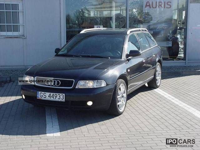 1999 Audi  A4 2.5TDi SPRZEDAM ZAMIENIĘ LUB! Estate Car Used vehicle photo