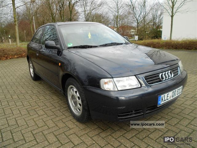 1999 Audi  A3 1.6 8-automatic air conditioning belt wheels TÜV NEW Limousine Used vehicle photo