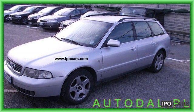 1999 Audi  A4 2.5TDI S-LINE ASR aluminum air Serwisowany Estate Car Used vehicle photo