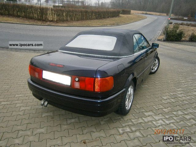 1996 Audi Cabriolet 1 9 Tdi Leather Seats Alloy