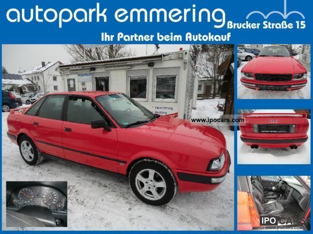 1992 Audi  80 132000km new timing belt leather ZV aluminum Limousine Used vehicle photo