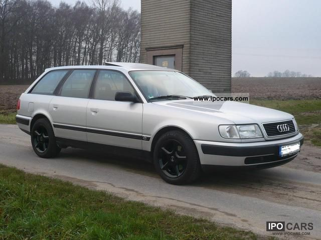 1991 Audi  100 2.3E - car lovers new parts for 2000 € Estate Car Used vehicle photo