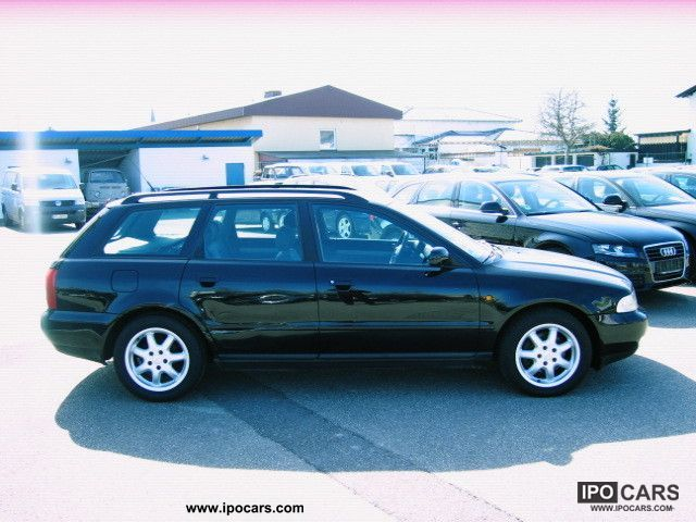 1998 Audi A4 Avant 18 T Air Bose Car Photo And Specs