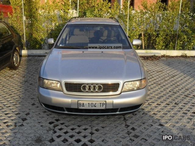 1998 audi a4 2 5 v6 tdi avant cat car photo and specs. Black Bedroom Furniture Sets. Home Design Ideas