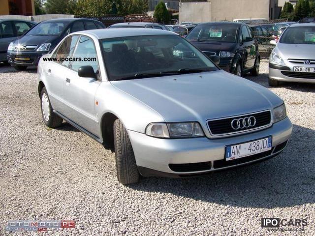 1996 Audi  A4 * climate control * 125km * OPŁACONA Limousine Used vehicle photo