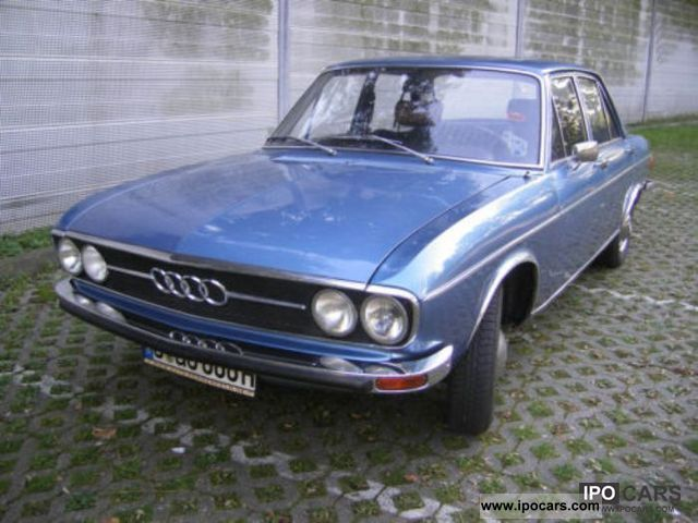 1972 Audi  H-100 GL number plate! TÜV Limousine Used vehicle photo