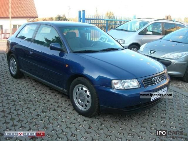 Audi  A3 Sprowadzony! Opłacony! 1999 Liquefied Petroleum Gas Cars (LPG, GPL, propane) photo