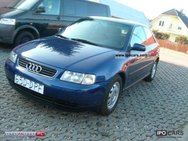 1999 audi a3 sprowadzony op acony car photo and specs. Black Bedroom Furniture Sets. Home Design Ideas