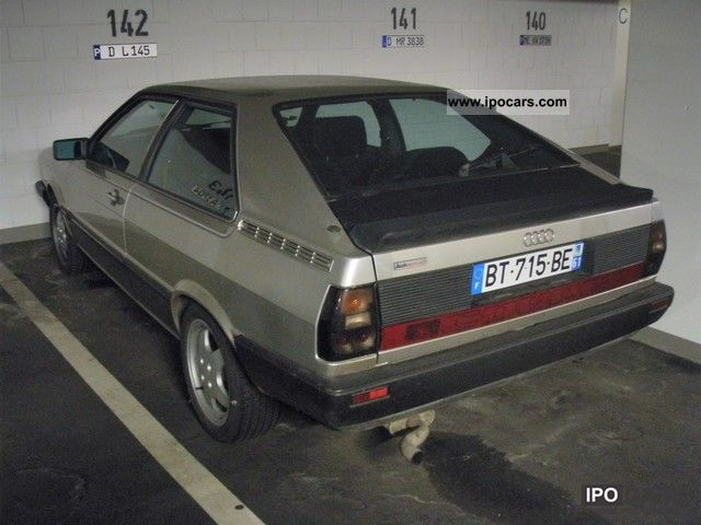 1984 Audi GT Coupe  Car Photo and Specs
