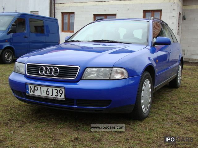 1997 audi kombi 1 9tdi a4 110 km car photo and specs. Black Bedroom Furniture Sets. Home Design Ideas