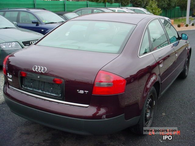 1998 Audi A6 1 8 T Car Photo And Specs