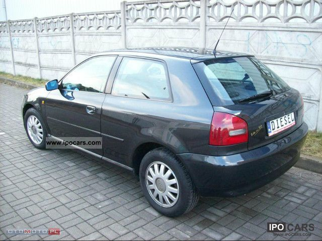 1998 audi a3 tdi automatic full 110km servis car photo and specs. Black Bedroom Furniture Sets. Home Design Ideas