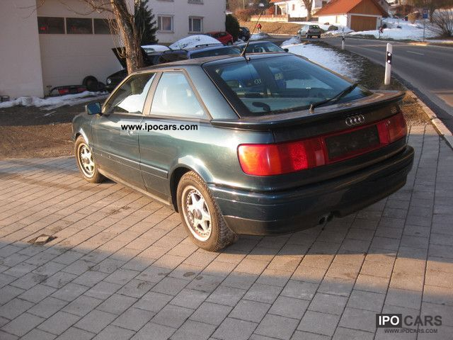 1995 Audi Special Coupe 2.8 quattro model. LIVE Sports car/Coupe Used