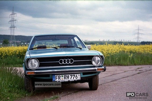 Audi  80 S model - 1975 1974 Vintage, Classic and Old Cars photo