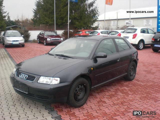 1998 audi a3 1 6 ambition 8 half frosted car photo and specs. Black Bedroom Furniture Sets. Home Design Ideas