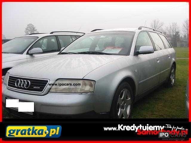 1999 Audi  A6 KredytujemySamochody.pl Estate Car Used vehicle photo