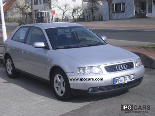 2001 audi a3 1 8 ambition car photo and specs. Black Bedroom Furniture Sets. Home Design Ideas