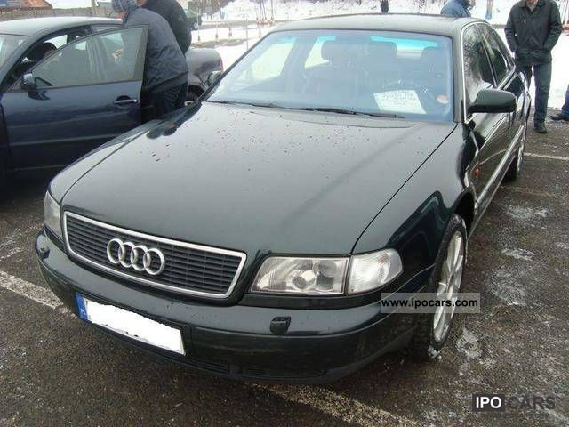 Audi  A8 4.2 BENZ SUPER STAN GAZ SEKW IDEAL! 1995 Liquefied Petroleum Gas Cars (LPG, GPL, propane) photo