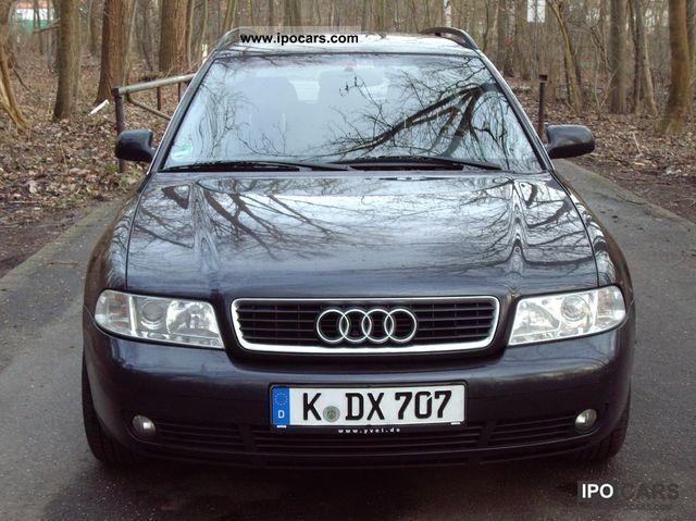 2000 Audi A4 Avant 2.4 - Car Photo and Specs
