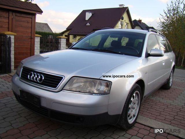 1999 Audi  A6 WEBASTO / cruise Estate Car Used vehicle photo