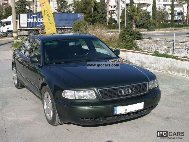 1998 Audi  A8 2.8 Tiptronic leather seats sports suspension Limousine Used vehicle photo