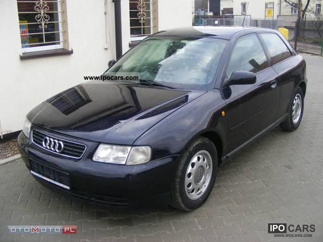 2000 audi a3 1 6 115 km climate tronic electrical car photo and specs. Black Bedroom Furniture Sets. Home Design Ideas