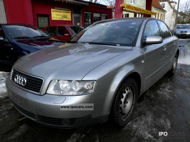 2001 Audi  A4 3.0 EU4 CARE 1.Hand Limousine Used vehicle photo