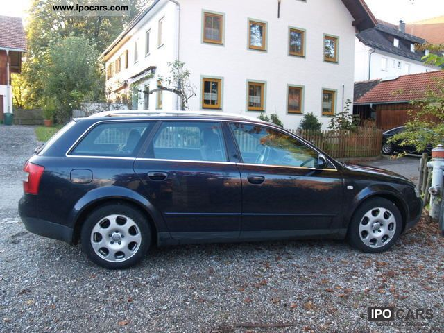 2002 audi a4 avant 2 5 tdi car photo and specs. Black Bedroom Furniture Sets. Home Design Ideas