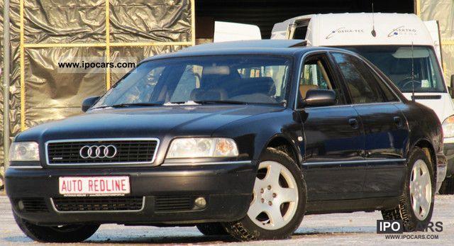 2000 Audi  A8 3.3 TDI quat. Aut 100% full-Navi Plus PDC GSD Limousine Used vehicle photo