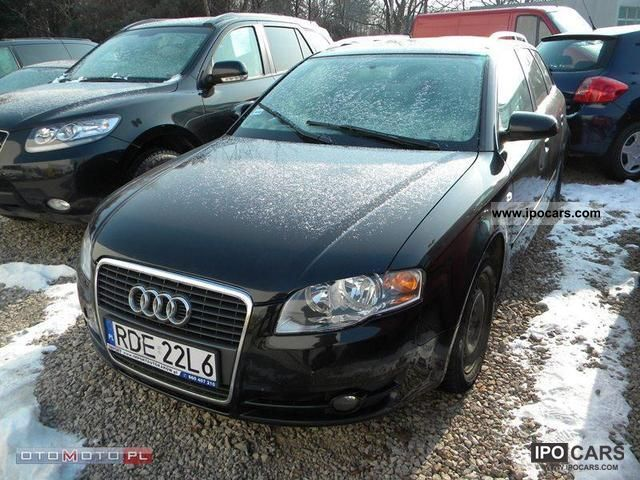 2005 Audi A4 20 Tdi Quattro Related Infomationspecifications