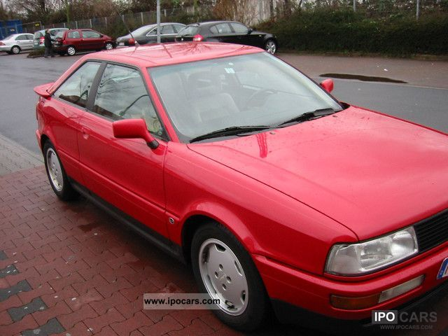 1989 Audi  Coupe 2.3 E orig. 140 tkm top condition Sports car/Coupe Used vehicle photo