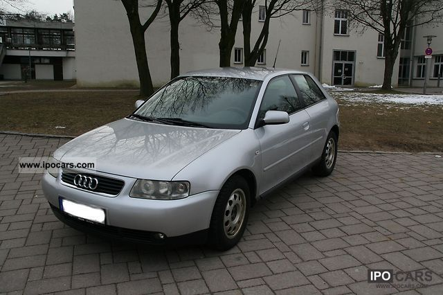 2002 audi a3 1 6 attraction car photo and specs. Black Bedroom Furniture Sets. Home Design Ideas