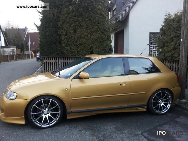 1998 Audi  A3 1.8 Tuning / S3-Optics / show car / bass power Sports car/Coupe Used vehicle photo