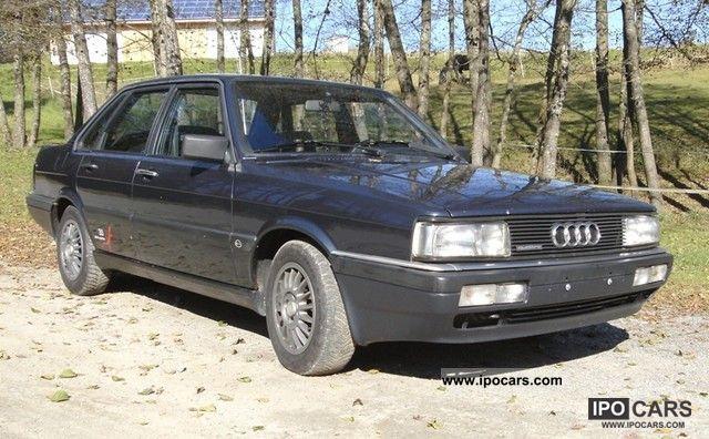 1986 Audi 90 quattro - Car Photo and Specs