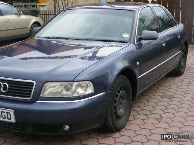 2002 Audi  A8 2.8 quattro Limousine Used vehicle photo