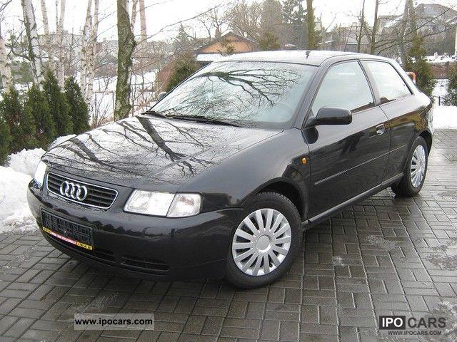 Audi  A3 1,6 SR 101km GAZ XENON AIR! 2000 Liquefied Petroleum Gas Cars (LPG, GPL, propane) photo