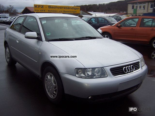 2002 audi a3 1 6 with climatronic and 4 car photo and specs. Black Bedroom Furniture Sets. Home Design Ideas