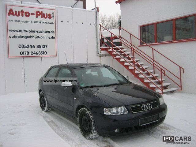 2001 Audi  A3 1.6, € 4, Klimatronic Limousine Used vehicle photo