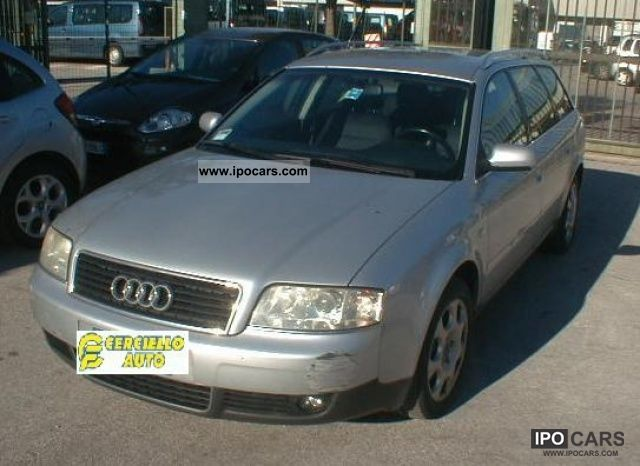 2004 audi a6 avant 2 5 v6 tdi cat car photo and specs. Black Bedroom Furniture Sets. Home Design Ideas