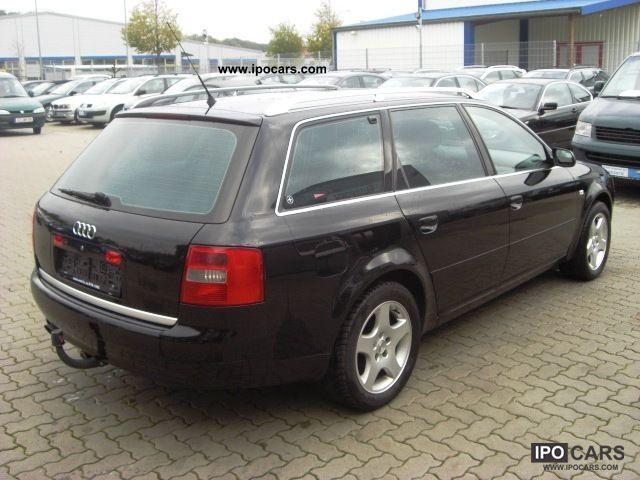 2001 Audi A6 Avant 2 0 Klimatro Automatic Ahk Alu Car Photo And Specs