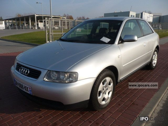 2001 Audi  A3 1.9 TDI 130PS SKORA climate control Sports car/Coupe Used vehicle photo