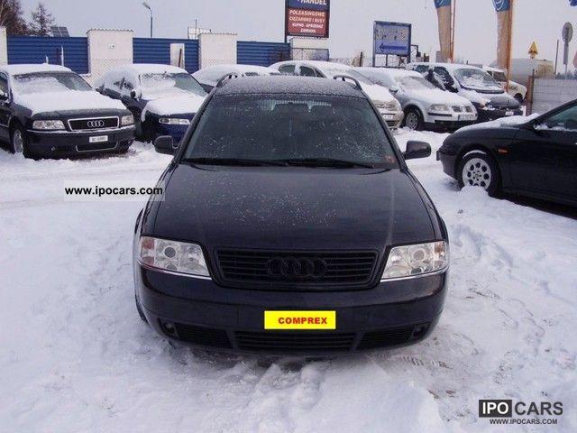 1999 Audi  A6 * 1.8 * TURBO * SERWIS * Szwajcaria Estate Car Used vehicle photo