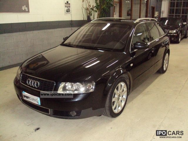 2002 audi a4 2 5 v6 quattro avant cat tdi 180 cv car photo and specs. Black Bedroom Furniture Sets. Home Design Ideas