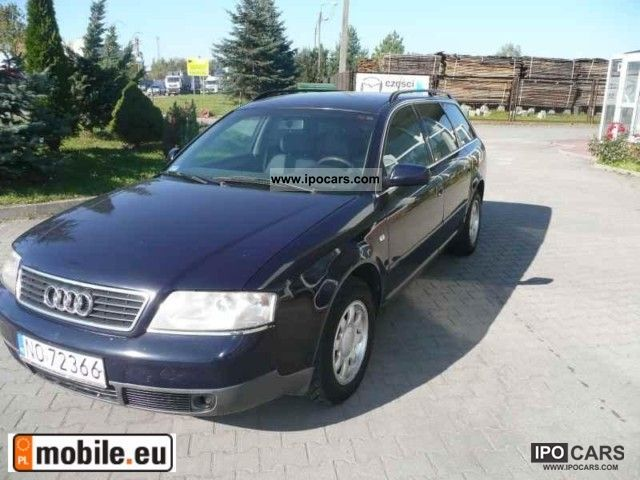 Audi  A6 2.4 V6 1998 Liquefied Petroleum Gas Cars (LPG, GPL, propane) photo