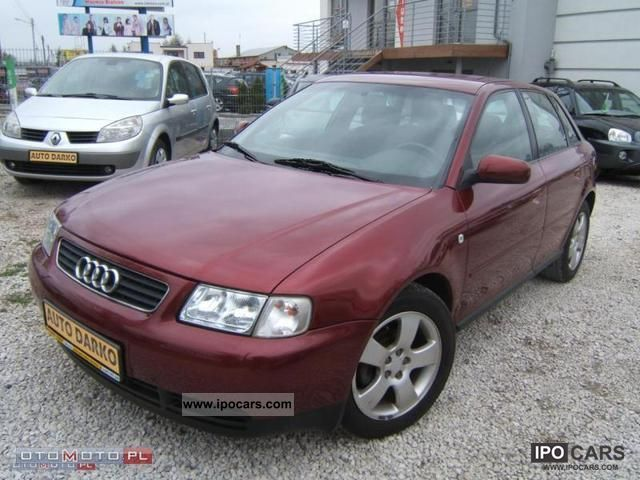 1999 audi a3 alkantara 110hp car photo and specs. Black Bedroom Furniture Sets. Home Design Ideas